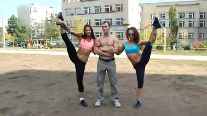 Жени и мъже тренират заедно! + Pole Dance Мотивация!