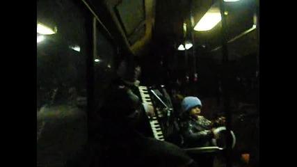 live музика в автобуса