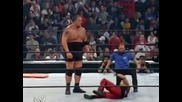 Wwe Judgement Day 2003 Brock Lesnar Vs The Big Show Stretcher Match Wwe Championship