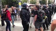 Germany: Police officer throws protester onto pavement at Berlin COVID sceptic demo
