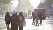 Chile: Water cannons, barricades mark Santiago anti-government protest
