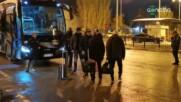 Лудогорец и ЦСКА се засякоха на Терминал 1 и това доведе до интересни срещи