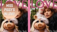 Miss Piggy joins Kendall Jenner for high fashion shoot