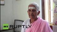 93-годишна индийка показва умения на Международния ден на йогата