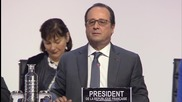 France: Climate deal an opportunity to 'change the world' - Hollande