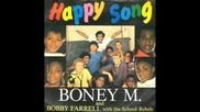 #9 Boney M and bobby farrell with the school rebels - Happy Song ( Extended Mix )1984