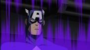Отмъстителите: Най-могъщите герои на Земята / Капитан Америка разпитва Червеният Череп