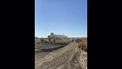 USA: At least three dead in train derailment in Montana *STILLS*