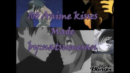 100 anime kisses-love me like you