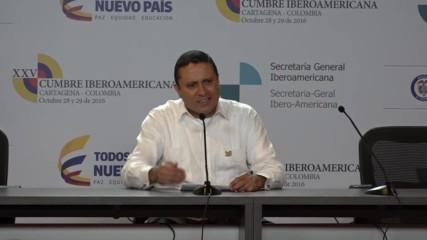 Colombia: Ibero-American Summit kicks off in Cartagena with FM meeting