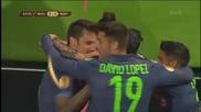 Волфсбург 1 - 4 Наполи ( 16/04/2015 ) ( лига европа )
