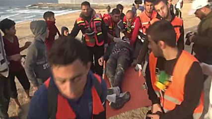 State of Palestine: 22 injured by Israeli fire during Gaza flotilla protest
