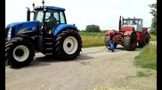 New Holland T8030 Vs. K701