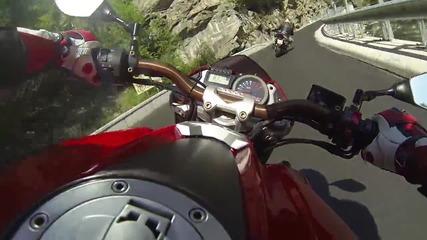 Нов път до Велинград с мотори