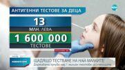 Държавата купува над 1 милион тестове за учениците