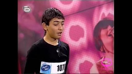 Music Idol 2: Янко Асенов - Разреваха Детето