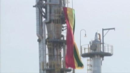 Bolivia: Morales inaugurates new liquefied natural gas plant