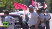 Russia: 'Victory Rally' ends at Moscow's principle war memorial after Berlin journey