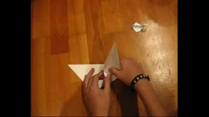 Как се прави хартиената птица от сериала Prison Break