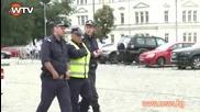 """Волен Сидеров погна турски журналисти пред """"св. Ал. Невски"""