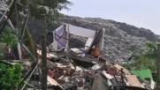 Срутване на огромно сметище край столицата на Шри Ланка взе жертви