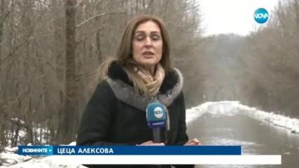 Взривиха устието на река Велека