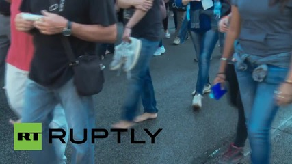 Italy: Thousands march in Rome in solidarity with refugees