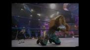 Trish Stratus & Rey Mysterio Vs. Victoria & Chris Jericho