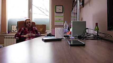 Скрита камера запечатва реакцията на Весела Бабинова, която разбира, че е избрана за