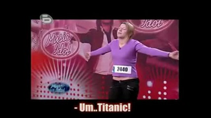 Music Idol 3 - Titanic
