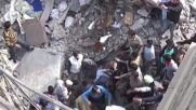 India: Several dead, many trapped in building collapse inferno