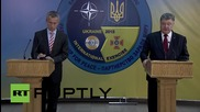 Ukraine: Poroshenko criticises Russian involvement in Syria