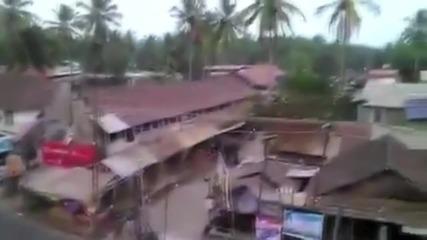 India: Elephant goes on destructive rampage through Kozhikode