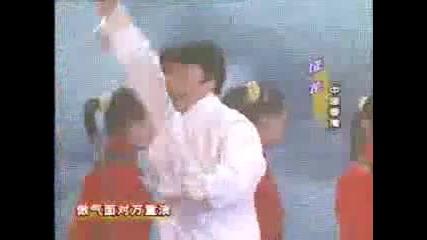 Jackie Chan - Drunken Boxing live
