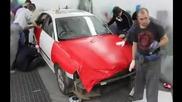 Облепяне на автомобил с карбоново фолио - обучение на Apa