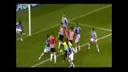 Псв - Черно Море 1:0 гол в 93 минута на Марселис