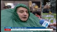 Протест на хора с увреждания - Новините на Нова