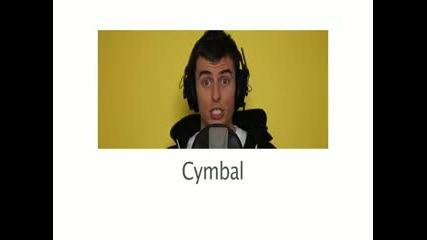 Dynamite - Taio Cruz - A Cappella Cover - Mike Tompkins Звуци с уста и пеене.