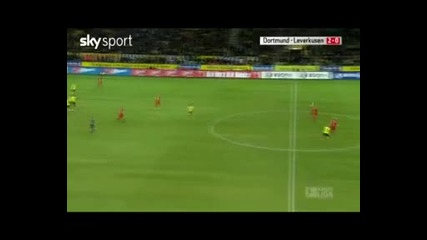 Димитър Рангелов с прекрасен гол за Дортмунд