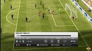 Най-якия гол който съм вкарвал на Fifa multiplayer ever !