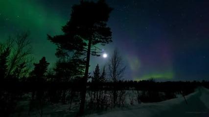Блясъкът и красотата на северното сияние