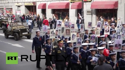 Russia: Veterans honoured at St. Petersburg 'Immortal Regiment' parade