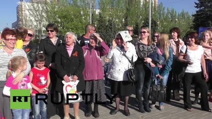 Ukraine: DPR continue with Victory Day preparations despite tension with Kiev