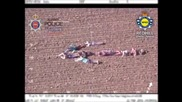UK: Easter egg hunters help police catch fugitives with human arrow