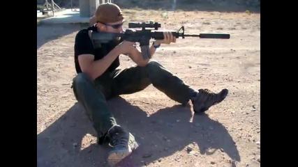 M16- M4 със заглушител и оптически мерник_2