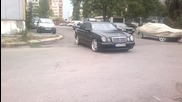 mercedes e55amg drift
