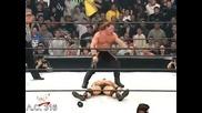 Отмъщение 2001: Скалата срещу Крис Джерико - За W C W титлата
