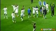 Вижте как футболният тим на Сенегал отпразнува класирането си за Лондон 2012