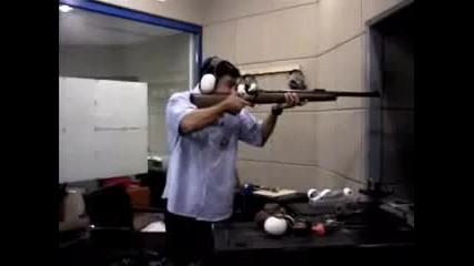 Смях - пушка с голям откат