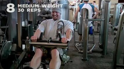 Kris Gethin 12 Weeks Trainer - Week 10 - Day 64 - Monday